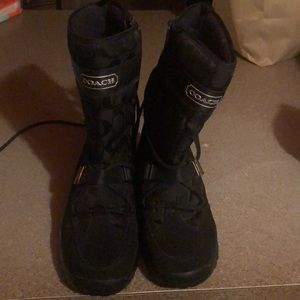 Authentic Coach Boots